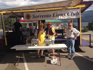 Pancake Breakfast at Sorrento Farmers Market