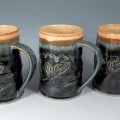Salmon Mugs by Sorrento Stoneware