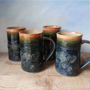 Sorrento Stoneware Mugs